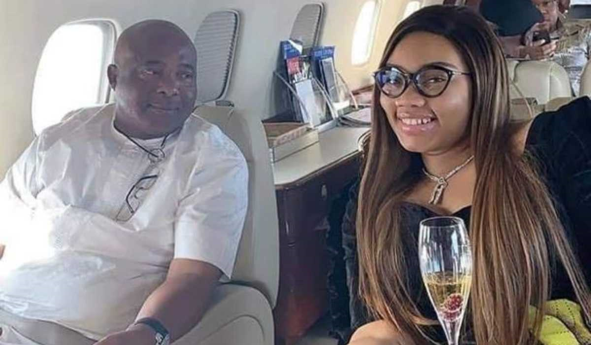 Governor Hope Uzodinma and wife, Chioma Uzodinma