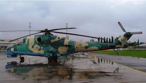 Nigeria Acquires Helicopter Gunships