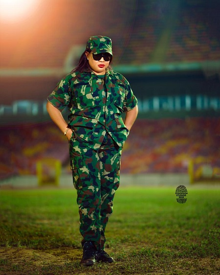 Actress Rita Daniels unveiled as Nigeria Defence Military ambassador