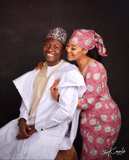 Muhammad Garba Shehu and his sweetheart, Zuwaia Umar Faruk