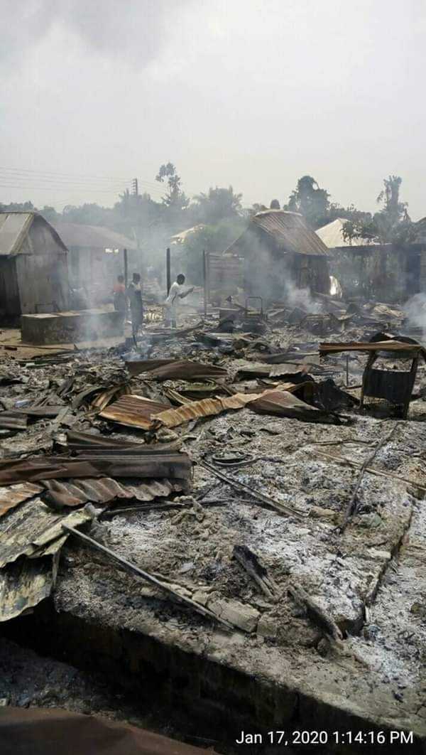 Houses burnt down in Bayelsa after murder of soldiers
