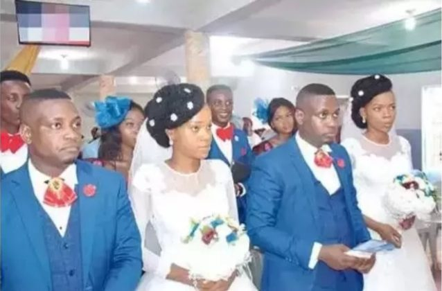 Twin sisters wed twin brothers in Lagos