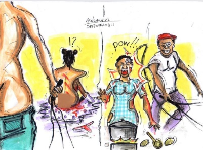 trafficked Nigerian lady