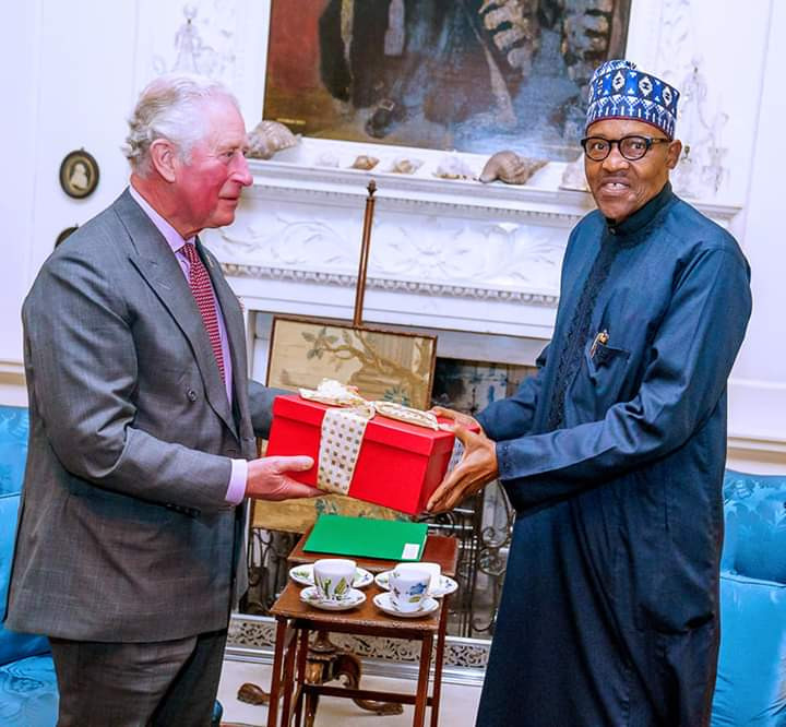Buhari and Prince Charles