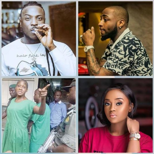 Peruzzi, Davido, Kemi and Chioma