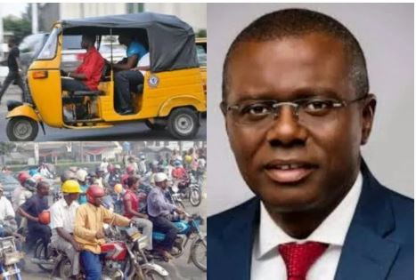 Sanwo-Olu has not restricted routes for okada and tricycle operators