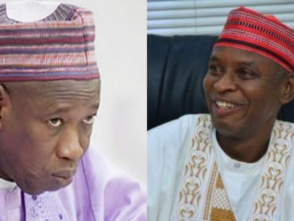 Governor Abdullahi Ganduje and Rabiu Sulaiman Bichi
