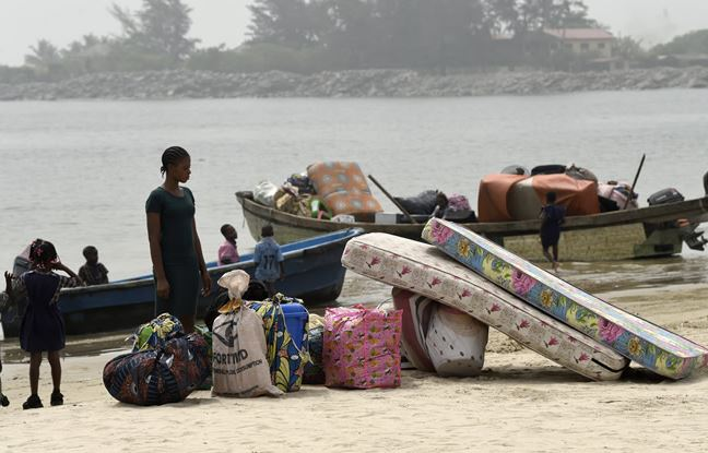 Navy sacks Lagos community