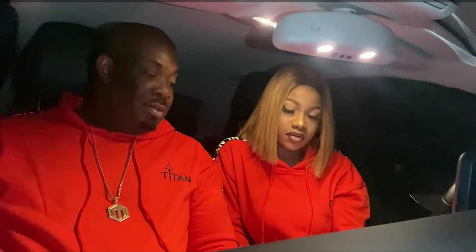 Don Jazzy and Tacha