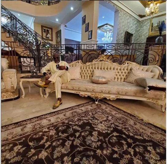 Dino Melaye's multi-billion naira mansion
