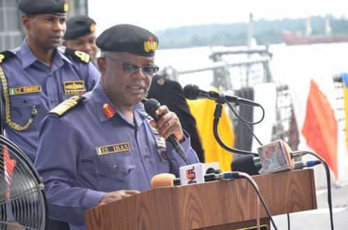 Nigeria's Chief Of Naval Staff, Ibok Ibas