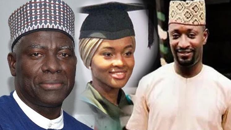 Justice Nnamdi Dimgba, Hanan Buhari, Anthony Okolie