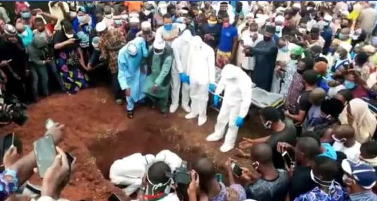 Ondo state commissioner buried