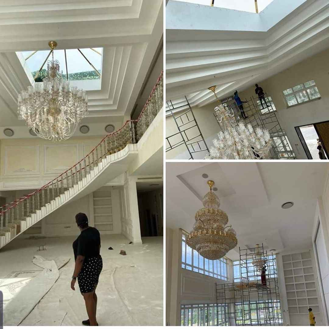 The mansion seized from Ajimobi by Oyo state government