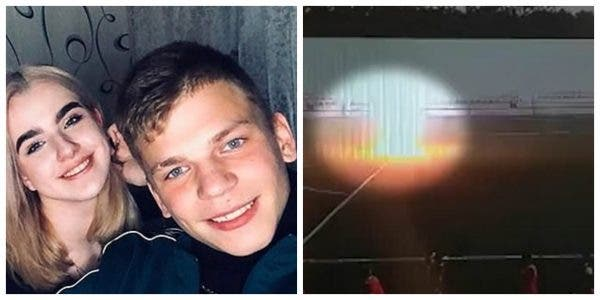 footballer struck by lightning while training