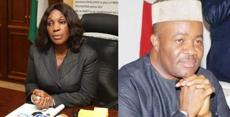 Godswill Akpabio and Joy Nunieh