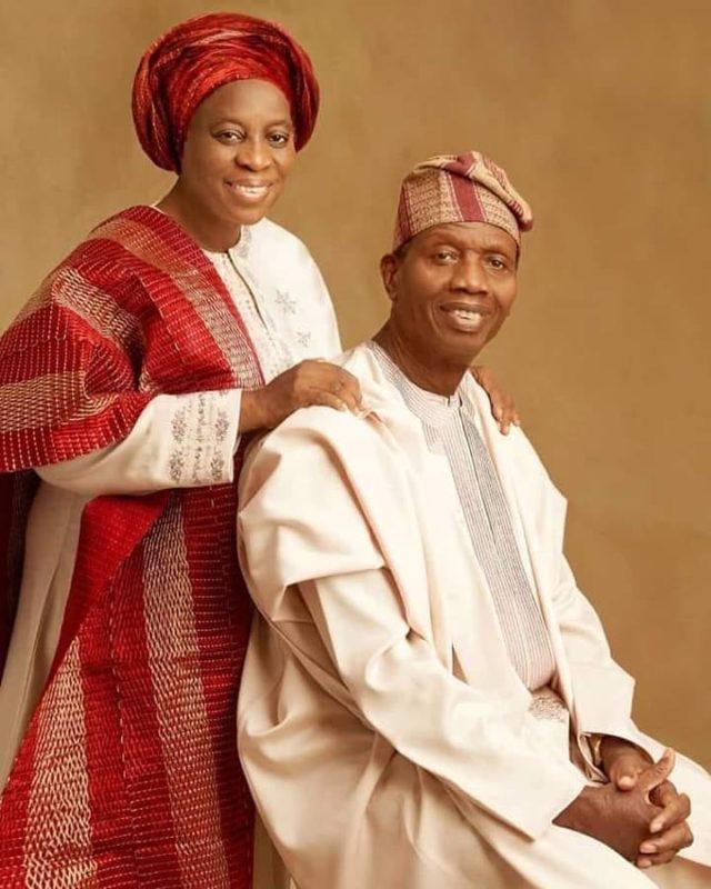 Pastor Adeboye and his wife