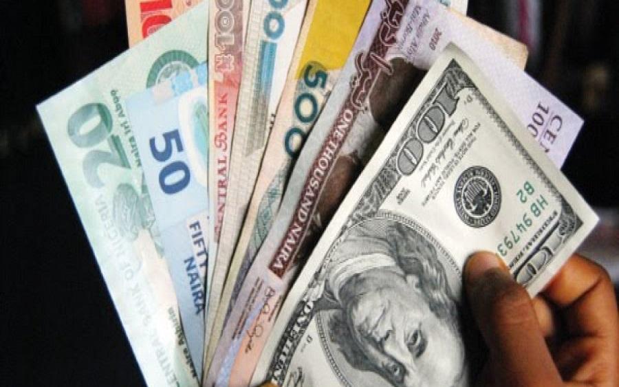 Naira and dollar