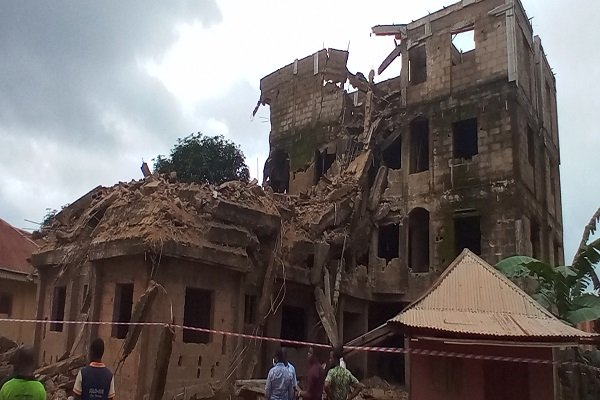 Abakaliki building collapse