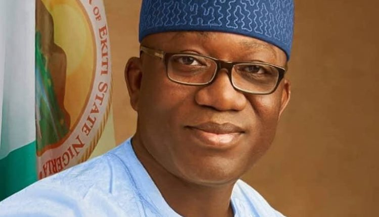 Governor of Ekiti State Kayode Fayemi