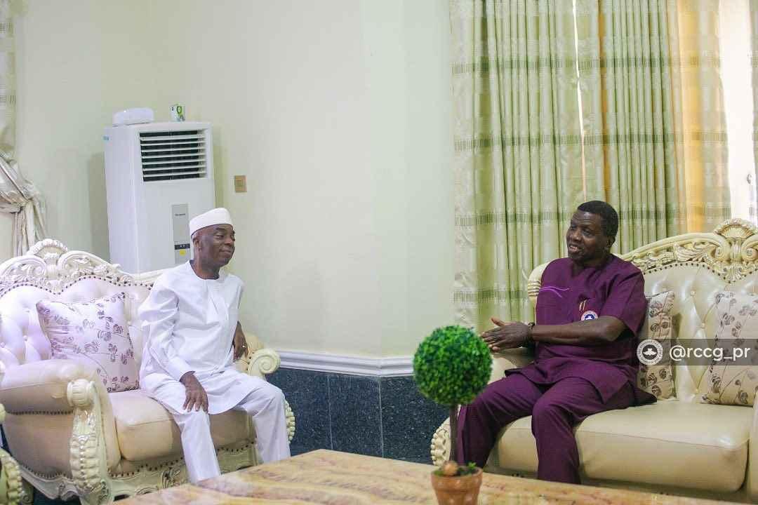 Bishop David Oyedepo and Pastor Enoch Adejare Adeboye