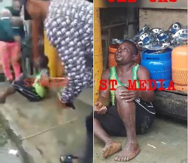 Thief flogged mercilessly after being caught in Delta