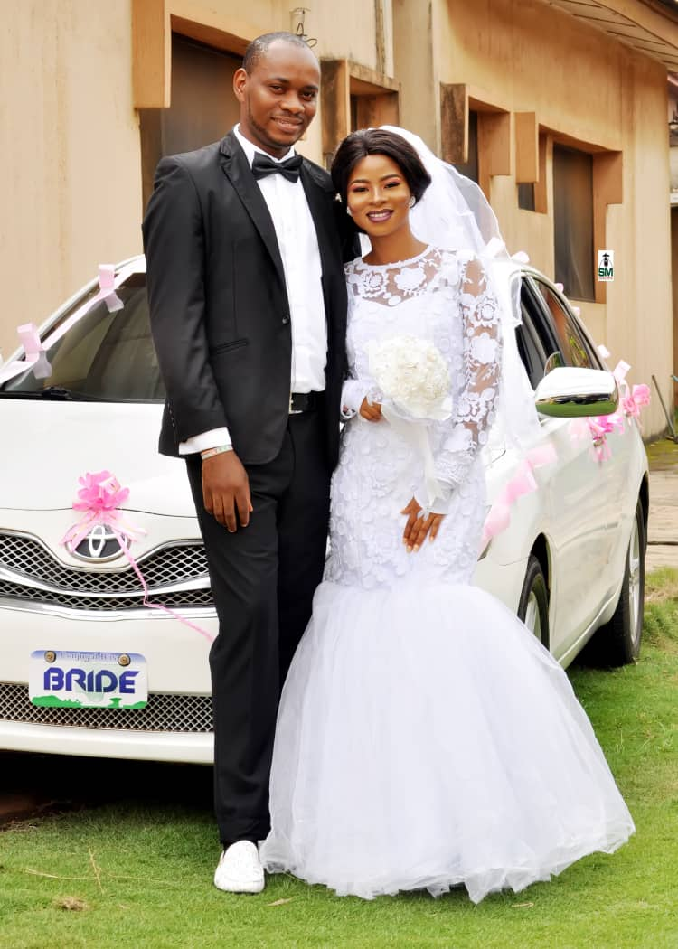 The beautiful couple got married after meeting on Nairaland