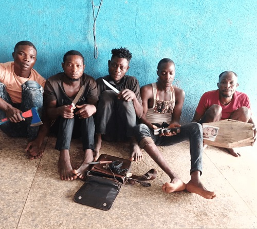 Herbalist and armed robbers caught in Ogun