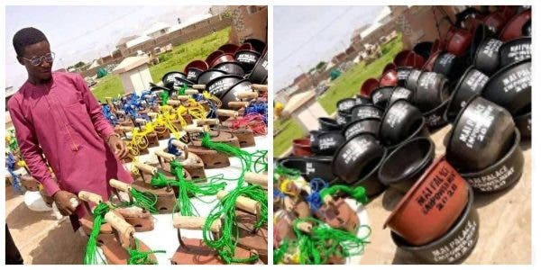 Detergent and pressing iron shared to empower youths