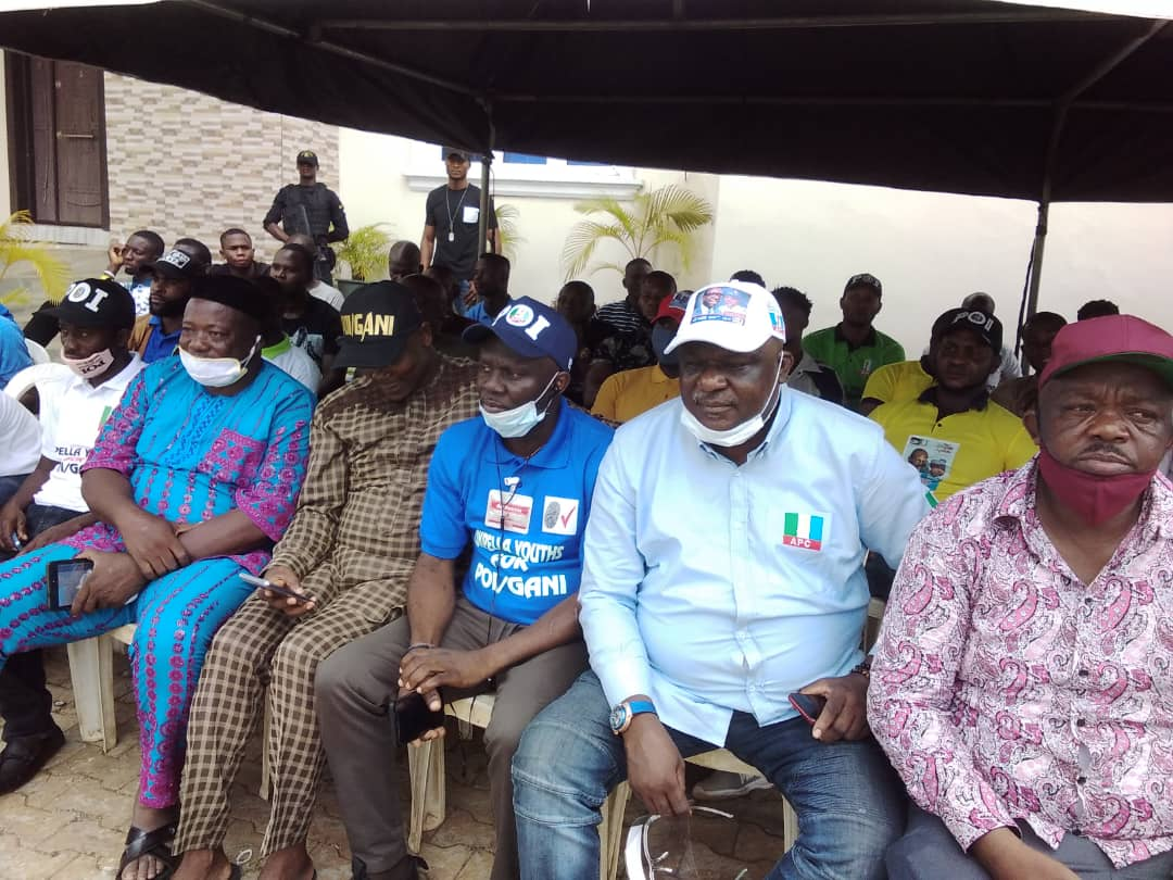 Prince Kassim Afegbua campaigning for APC