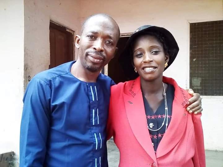 The pastor and his wife killed by gunmen