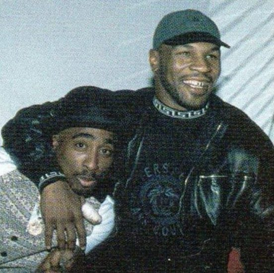 2pac and Mike Tyson