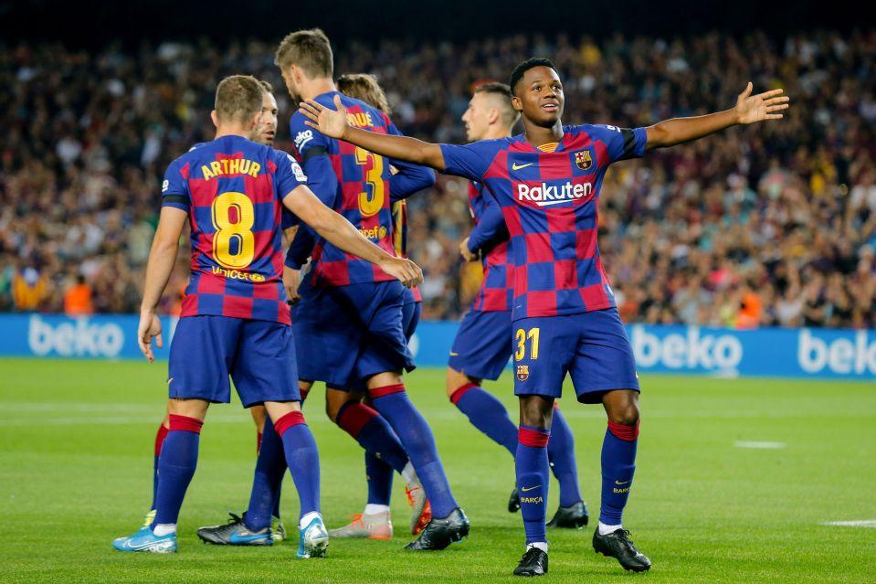 Barca teammates