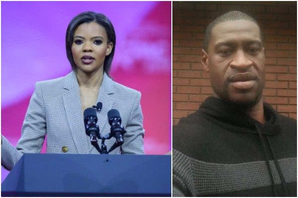 Candace Owens has been slammed over her insensitive comment on George Floyd's death