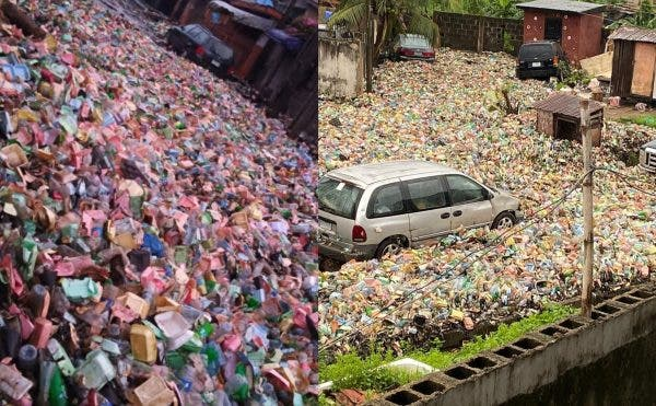 Garbage has taken over Surulere area of Lagos state