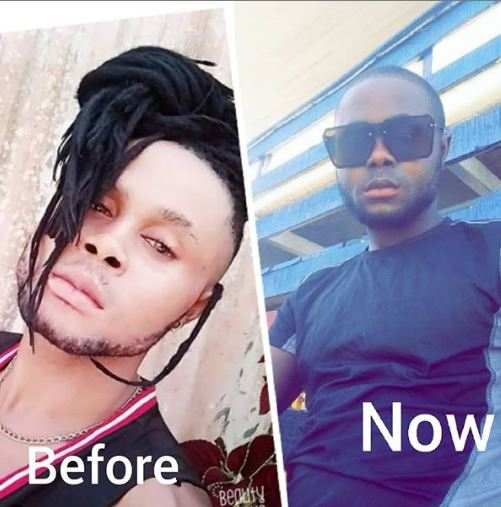 Esedikame shared the story on his social media page
