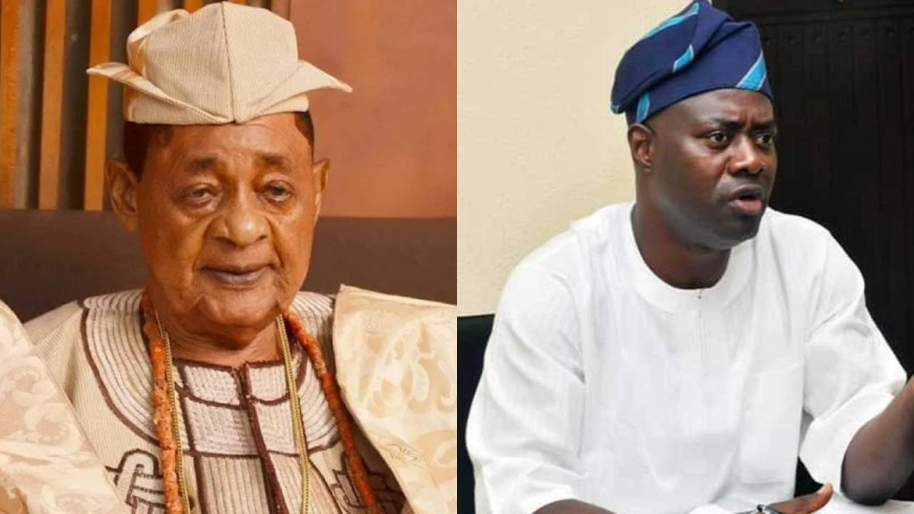 Alaafin of Oyo and Governor Seyi Makinde