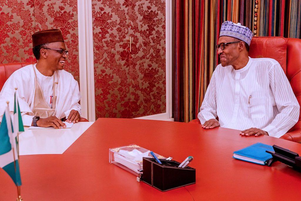 Nasir El-Rufai and President Muhammadu Buhari