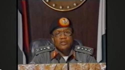 Former Nigerian dictator, Ibrahim Badamosi Babangida