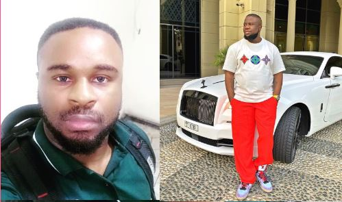 Alexander Thandi Ubani and Hushpuppi