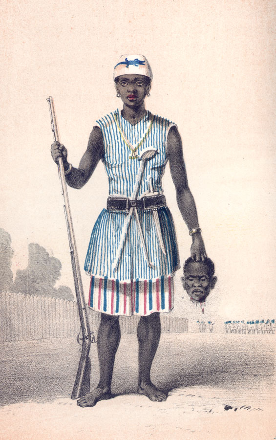 The Incredible Story Of The Fearless Women Warriors Of Dahomey (Photos)