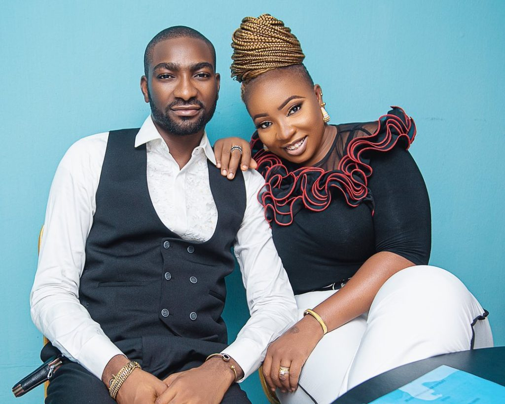 Anita Joseph and husband, MC Fish