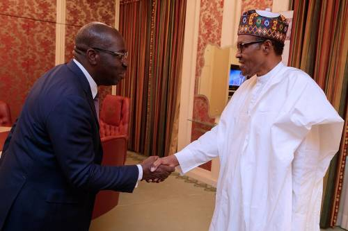 Governor Obaseki and President Buhari