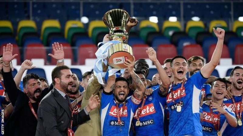 Napoli wins Coppa Italia
