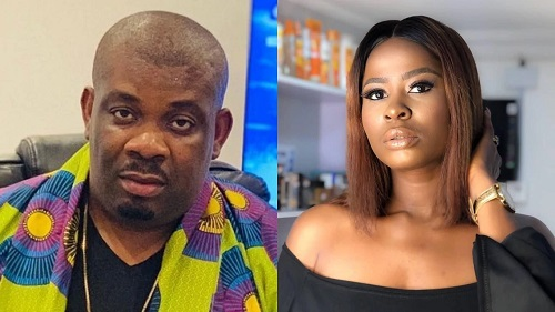 Don Jazzy and Ella