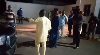 Ondo deputy governor stopped from leaving government house by a commissioner of police