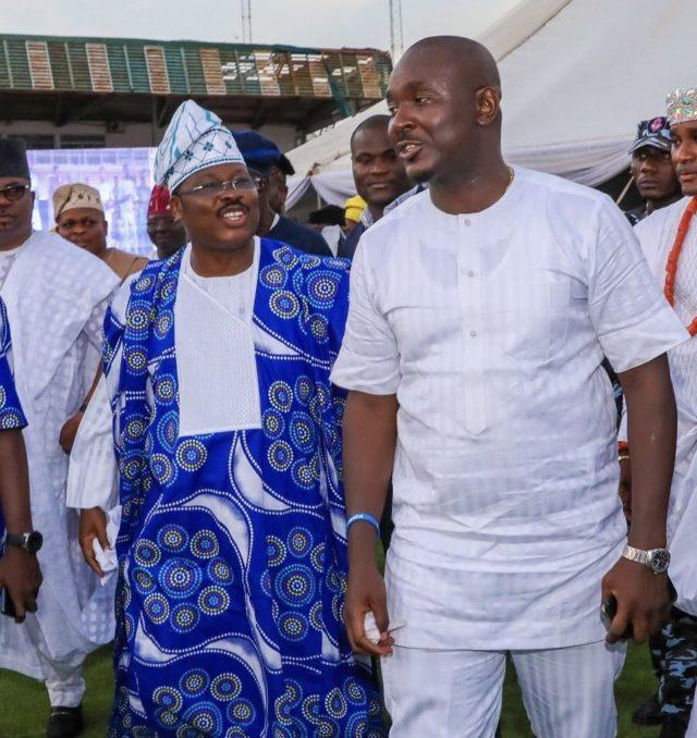 Akin Alabi and Abiola Ajimobi