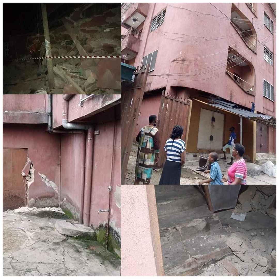 Three-storey building collapses in Umuahia