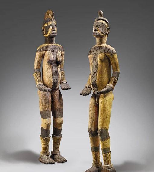 Stolen Igbo statues
