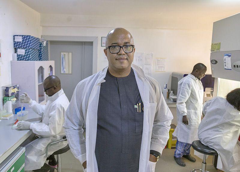 Nigeria Centre for Disease Control,  Chikwe Ihekweazu